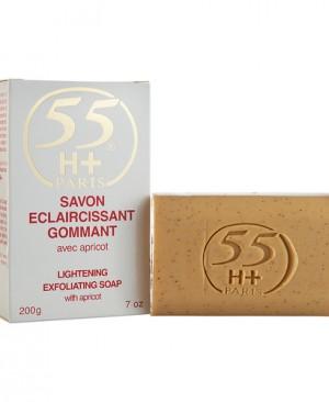55H+ LIGHTEN EXFOL SOAP 200G APRICOT