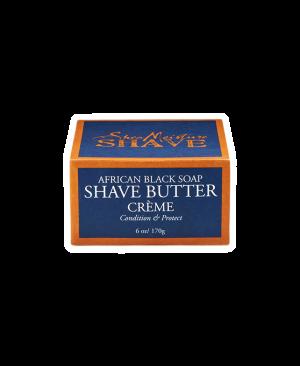 AFRICAN BLK SOAP SHAVE BUTTER 170GOR17