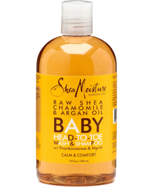 RAW SHEA BUT BABY WASH SHAMPOO 384MLNR17