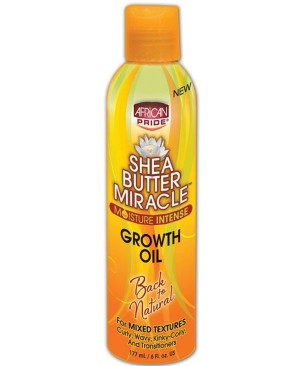 SHEA BUTTER MIRACLE GROWTH OIL 8OZ
