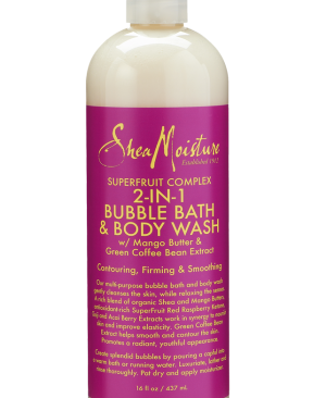 SUPERFRUIT COMPLE 2N1 BUBBLE BATH473MA17