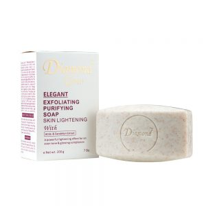 Diamond Glow Elegant Exfoliating Purifying Soap