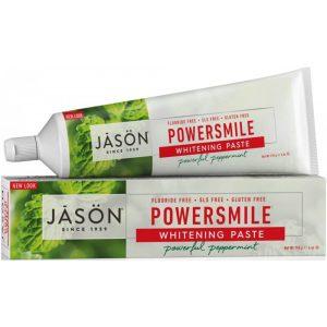 Jason Powersmile® Whitening Toothpaste Peppermint Fluoride Free