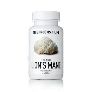 Lion's Mane Mushroom Supplement Capsules - 60 Capsules