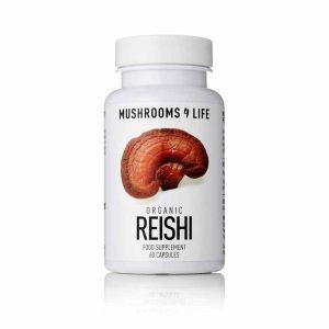 Reishi Mushroom Supplement Capsules 60 Capsules