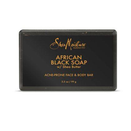 African Black Soap Acne Prone Face & Body Bar