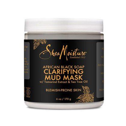 African Black Soap Clarifying Mud Mask