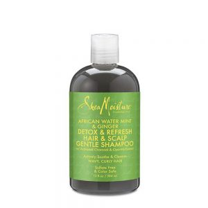 African Water Mint & Ginger Detox Hair & Scalp Gentle Shampoo