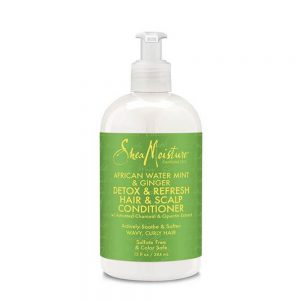 SheaMoisture AFRICAN WATER MINT GINGER DETOX REFRESH HAIR SCALP CONDITIONER