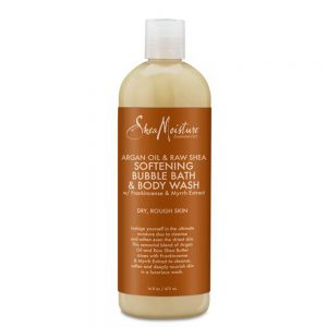 Argan Oil & Raw Shea Softening Bubble Bath & Body Wash