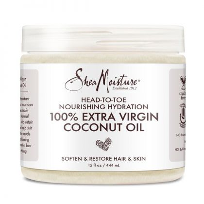 100% EXTRA VIRGIN COCONUT OIL (15 OZ) HEAD TO TOE NOURISHING HYDRATION
