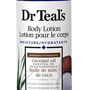 Dr Teal's Body Lotion Moisture plus Nourishing Coconut Oil, 16 fl oz