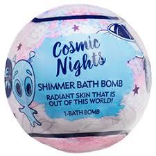 DR TEALS COSMIC NIGHTS SHIMMER BATH BOMB