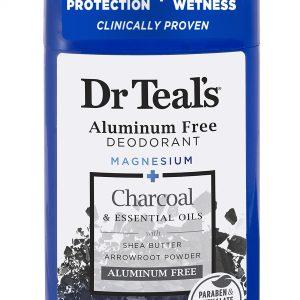 Dr Teal's Aluminum Free Deodorant Charcoal