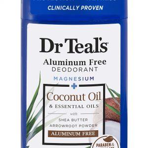 Dr Teal's Aluminum Free Deodorant Coconut