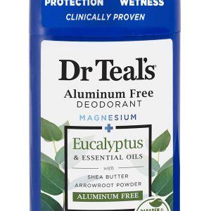 Dr Teal's Aluminum Free Deodorant Eucalyptus