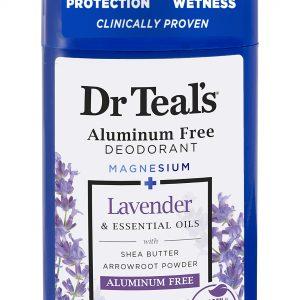 Dr Teal's Aluminum Free Deodorant 2.65 oz Lavender