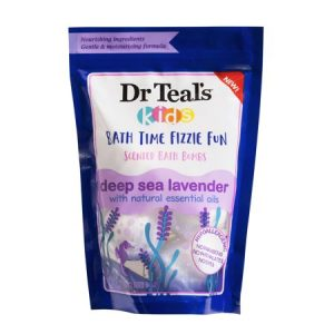 Dr Teal's Bath Bomb - Kids Deep Sea Lavender