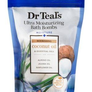 Dr Teal's Bath Bombs - Coconut 1.6 OZ