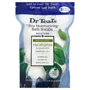 Dr Teal's Bath Bombs - Eucalyptus & Spearmint