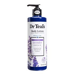 Dr Teal's Body Lotion Moisture plus Soothing Lavender, 16 fl oz