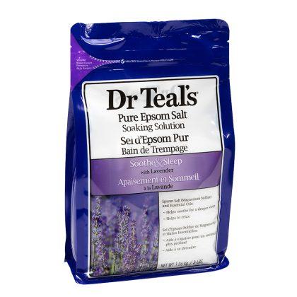 Dr Teal's Epsom Salt Lavender 1.36kg