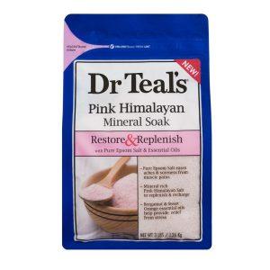 Dr Teal's Epsom Salt Pink Himalayan 1.36kg