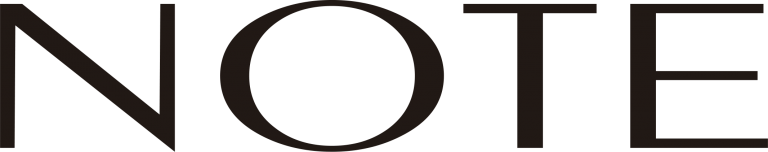 note logo