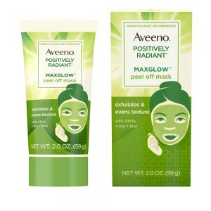 AVEENO® POSITIVELY RADIANT® MAXGLOW™ Peel Off Face Mask