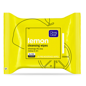 CLEAN & CLEAR® Lemon Cleansing Wipes