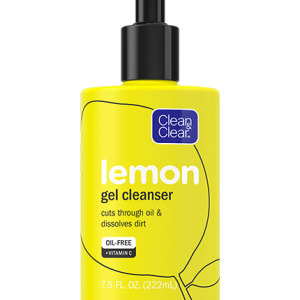 CLEAN & CLEAR® Lemon Gel Facial Cleanser