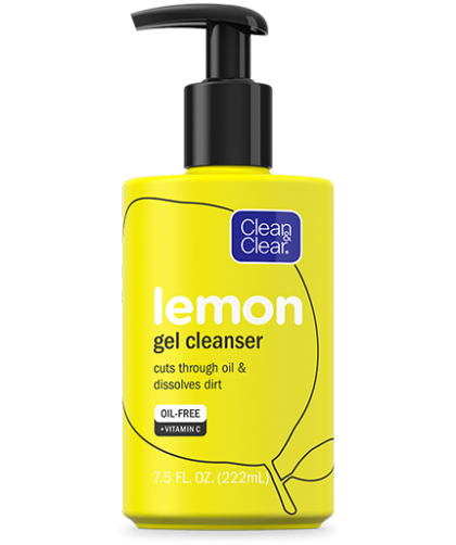 CLEAN & CLEAR® Lemon Gel Facial Cleanser