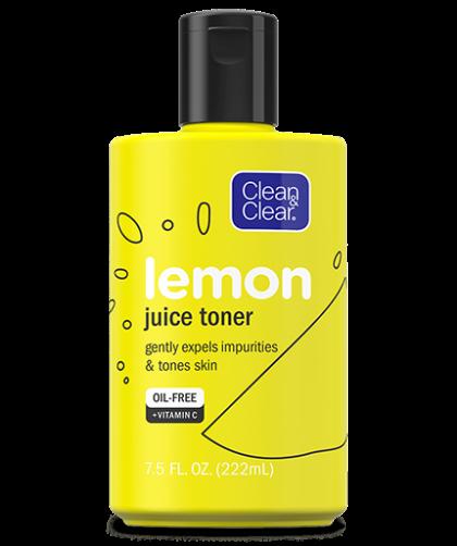 CLEAN & CLEAR® Lemon Juice Toner