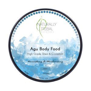 "Naturally Tribal ""Agu"" Men's Body Food (200g)"