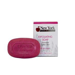 New York Fair & Lovely Exfoliating Soap 200g
