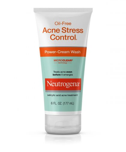 Oil-Free Acne Stress Control® Power-Cream Wash