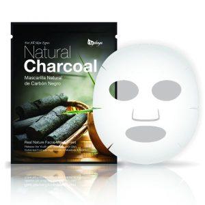 SAPLAYA SKINCARE NATURAL CHARCOAL FACIAL MASK SHEET