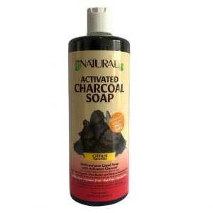 DR NATURAL ACTIVATED CHARCOAL SOAP CITRUS