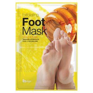 exoilating lemon honey mask