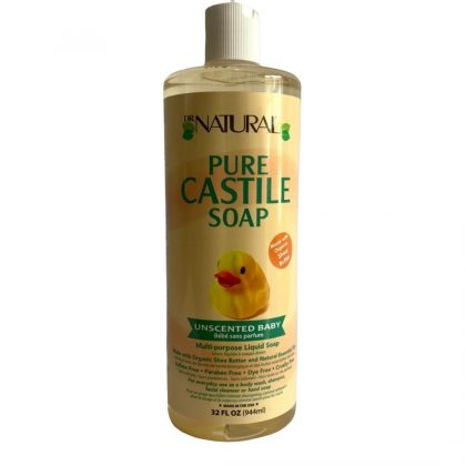 DR NATURAL PURE  CASTILE SOAP UNSCENTED BABY